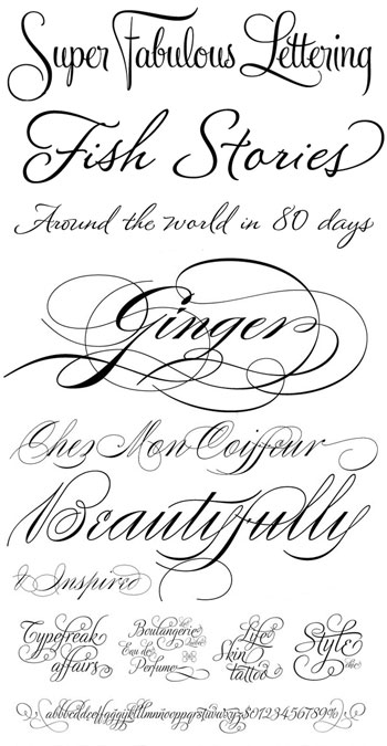 Delicious Wedding Fonts