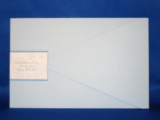 custom invitation envelope
