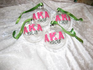 alpha kappa alpha ornament gifts
