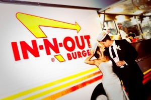 in-and-out burger wedding